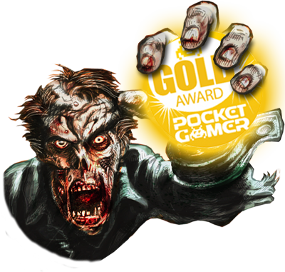Pocket Gamer Gold Award Zombie